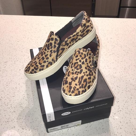 Dr Scholls No Chill Leopard Slip